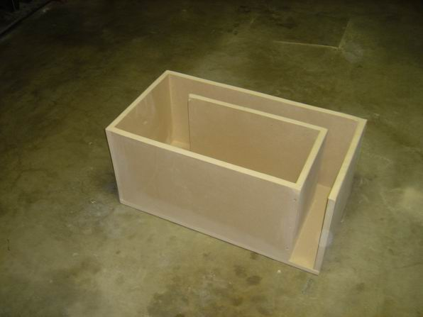 Subwoofer box construction help for L ported sub box design