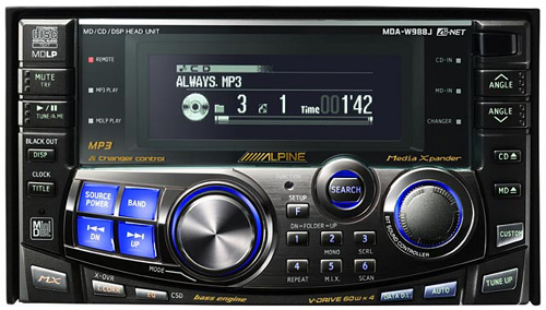 new alpine 2 din 3 way capable cde w265bt page 2 car audio car stereo. Black Bedroom Furniture Sets. Home Design Ideas