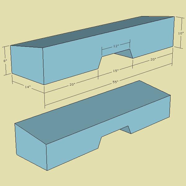 silverado sub box dimensions 2