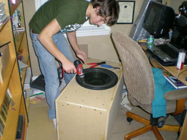 loudest subwoofer box design 1