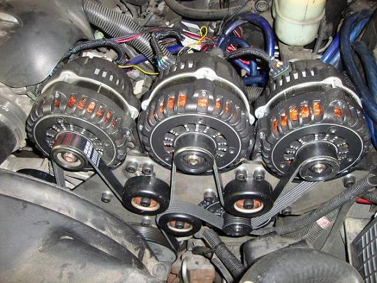dual alternator wiring solidfonts ford 6 0 dual alternator wiring home diagrams