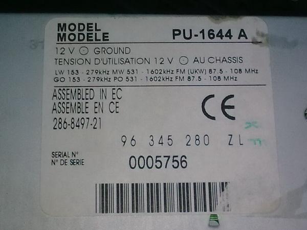 radio mf2910 schaltplan
