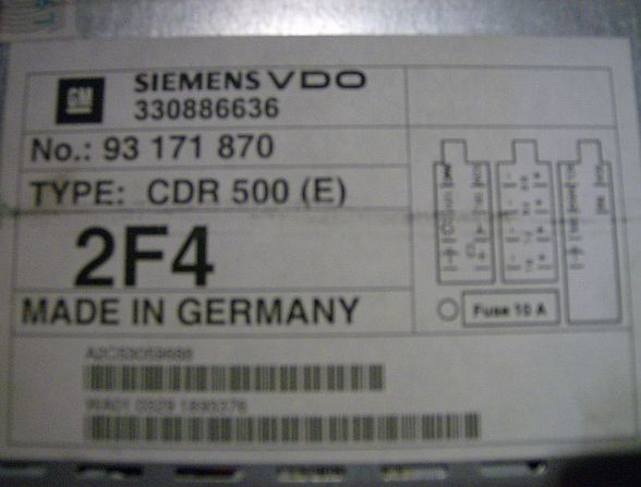 archive through march 03 2011 lost car radio codes can. Black Bedroom Furniture Sets. Home Design Ideas