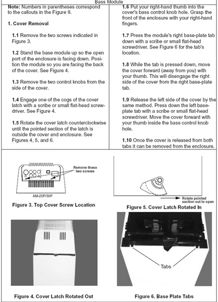 Archive Through July 06  2008 - How To Diy Repair A Bose Lifestyle 12 Subwoofer