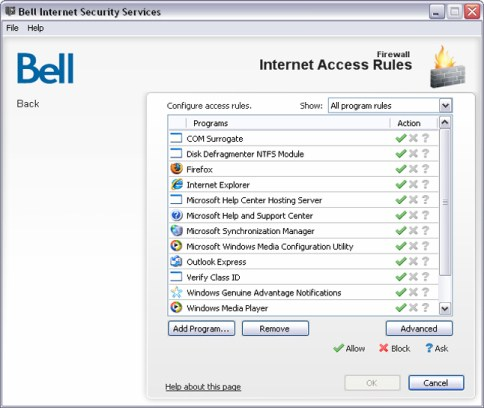 Bell internet security mcafee download