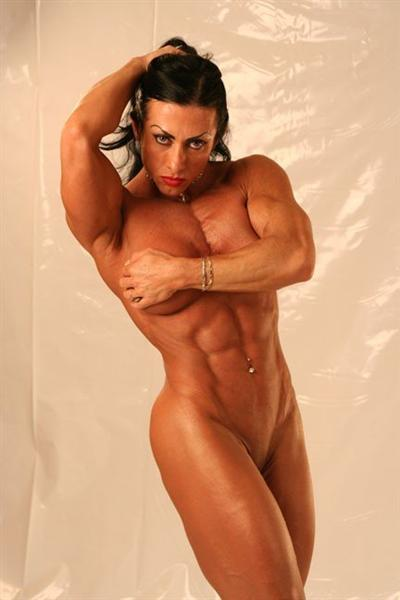 Female naked body builder picture