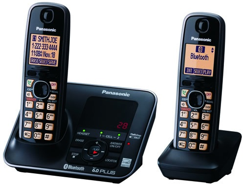 Panasonic KX-TG7622B Link To Cell Phone System