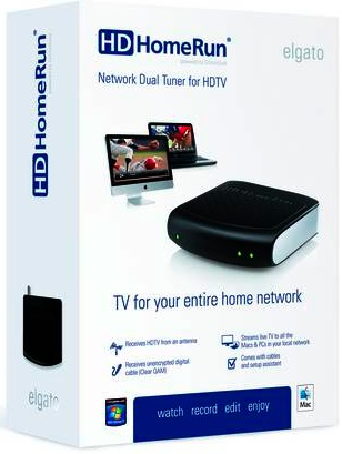 Elgato HDHomeRun Network Dual Tuner for HDTV - Box