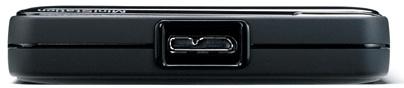 Buffalo HD-PNTU3 MiniStation Plus USB 3.0 Portable Hard Drive - Port