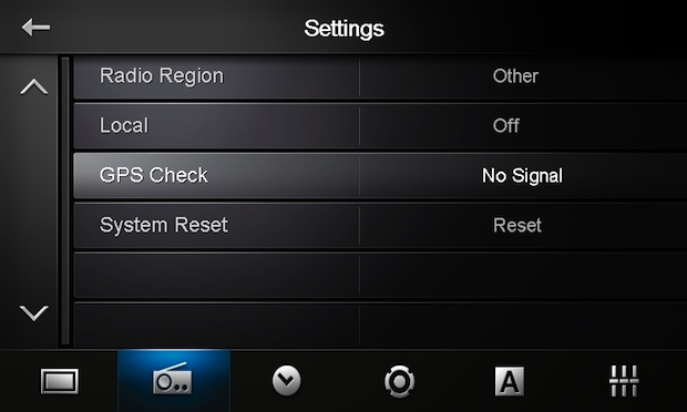 Pioneer AppRadio - Settings