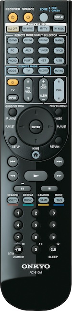Onkyo RC-810M Remote Control for TX-NR1009