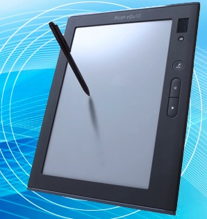 Ricoh eQuill eWriter Tablet