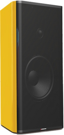 Monster ClarityHD Model One Powered Speakers with iPod Dock - Yellow