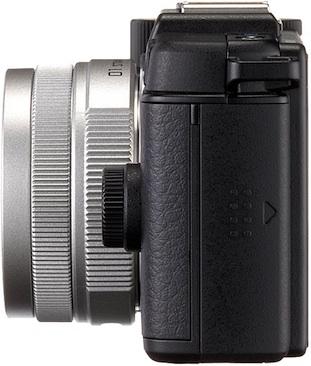 PENTAX Q Interchangeable Lens Digital Camera - left side