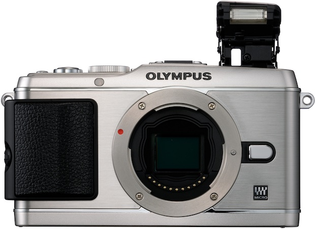 Olympus PEN E-P3 Micro Four Thirds Digital Camera - Front