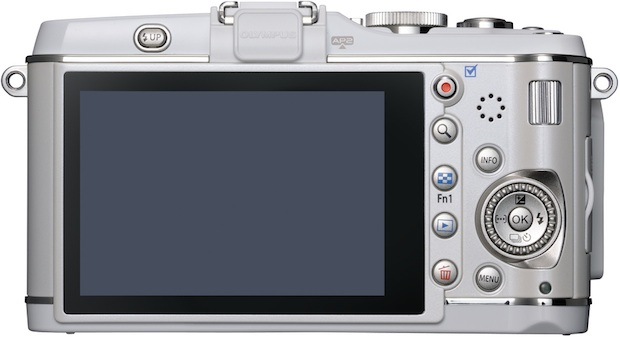 Olympus PEN E-P3 Micro Four Thirds Digital Camera - Back