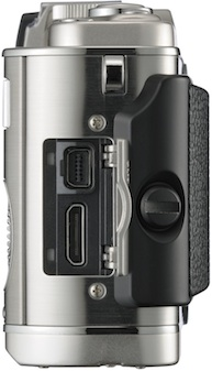 Olympus PEN E-P3 Micro Four Thirds Digital Camera - Side