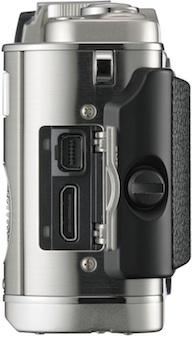 Olympus PEN E-P3 Micro Four Thirds Digital Camera - Side