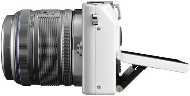 Olympus PEN Lite E-PL3 Micro Four Thirds Digital Camera - side