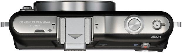 Olympus PEN mini E-PM1 Micro Four Thirds Digital Camera - top