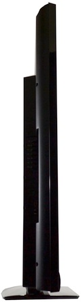 JVC BlackCrystal 3000 Series LCD HDTV - side