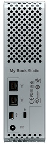 WD My Book Studio Drive External Hard Drive - Back