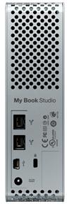 WD My Book Studio Drive External Hard Drive - Back