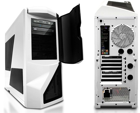 iBUYPOWER Gamer Extreme 940SLC BTS 11 Desktop PC - Front Back