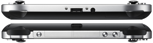 Sony PlayStation Vita Portable Game Player - Top and Bottom