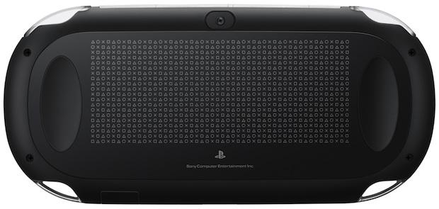 Sony PlayStation Vita Portable Game Player - Back