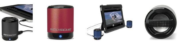Scosche boomCAN Portable Speakers