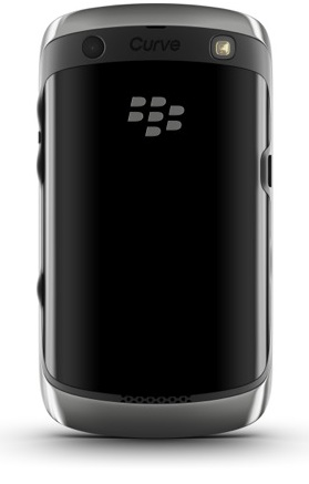 BlackBerry Curve 9350, 9360, 9370 Smartphones - back
