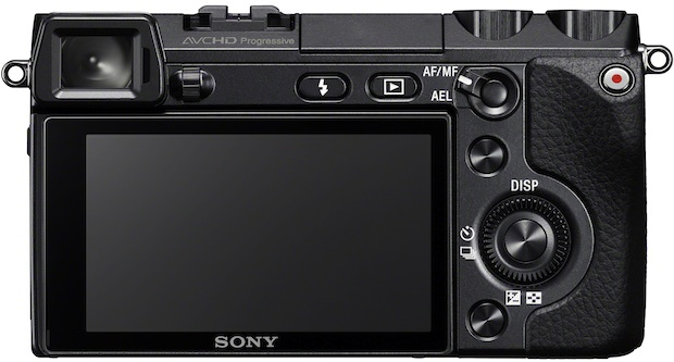 Sony Alpha NEX-7 Interchangeable Lens Digital Camera - Back