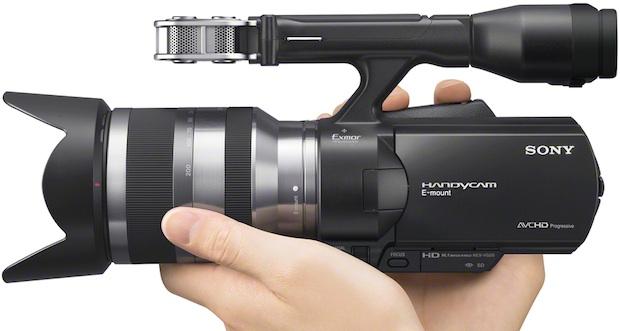 Sony NEX-VG20H Handycam Interchangeable Lens Camcorder