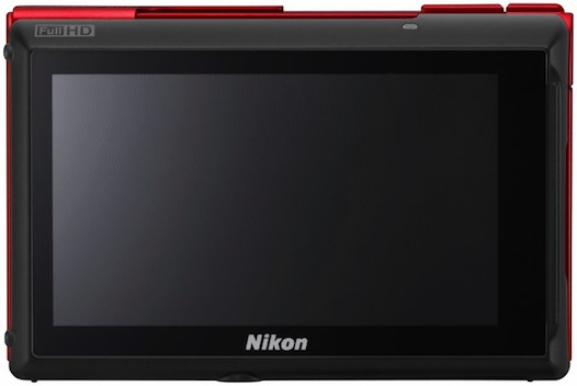 Nikon COOLPIX S100 Digital Camera - Back