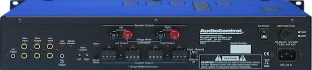 AudioControl Architect 210ES Amplifier - Back