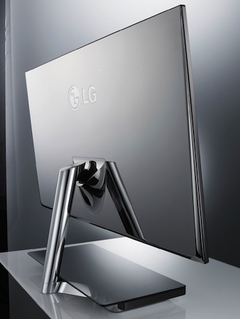 LG E91 LCD Monitor - back