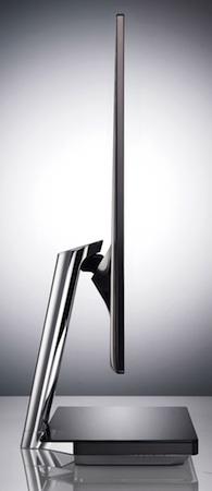 LG E91 LCD Monitor - side