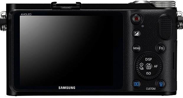 Samsung NX200 Interchangeable Lens Digital Camera - back