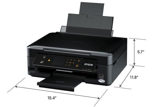 Epson Stylus NX430 Small-in-One Printer - Size