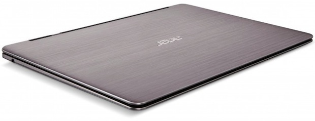 Acer Aspire S3 Ultrabook Laptop - top