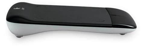 Logitech Wireless Touchpad - side