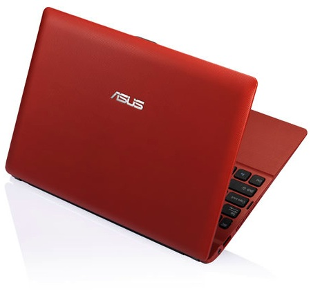 ASUS Eee PC X101 Netbook - Red