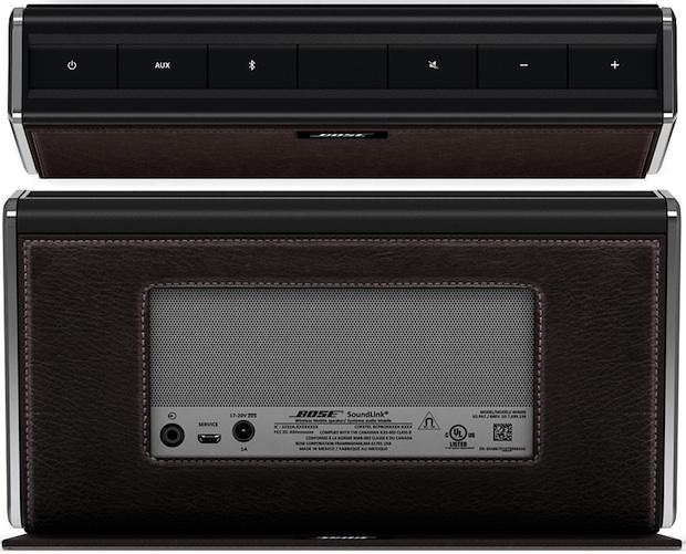 Bose SoundLink Mobile Wireless Speaker - Top and Back
