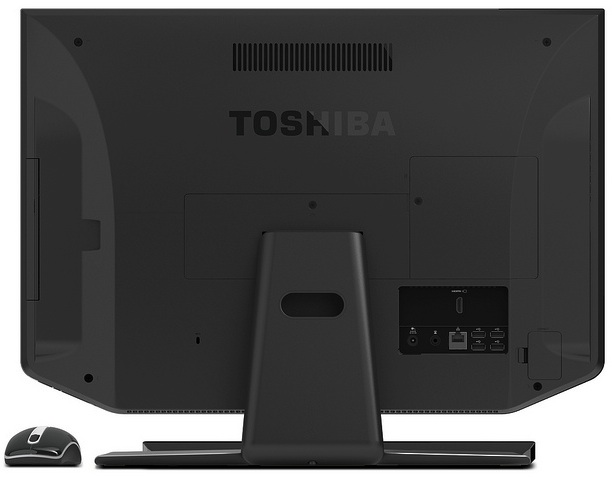 Toshiba DX735 All-in-One Desktop PC - back