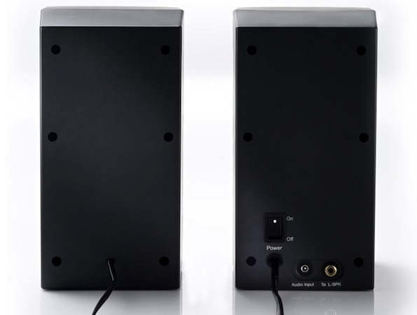 Hercules XPS 2.0 30 DJ Club Computer Speakers - back