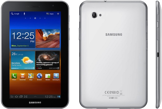 Samsung GALAXY Tab 7.0 Plus Tablet - sides