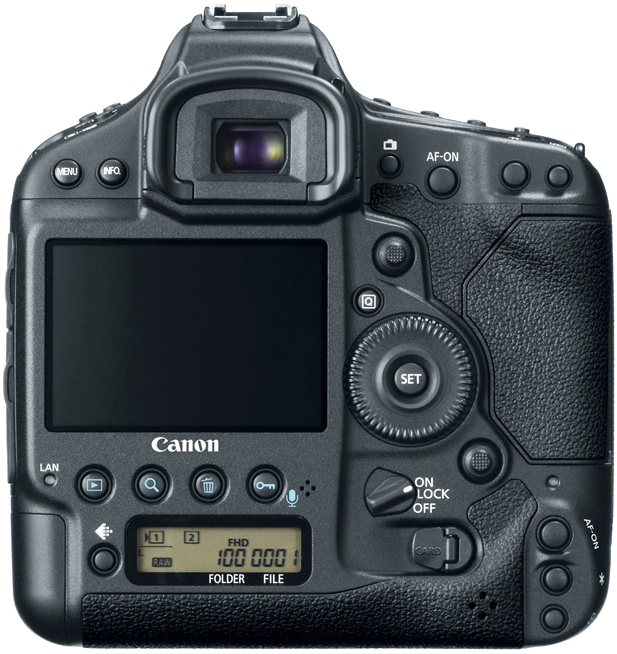 Canon EOS-1DX Digital SLR Camera - back