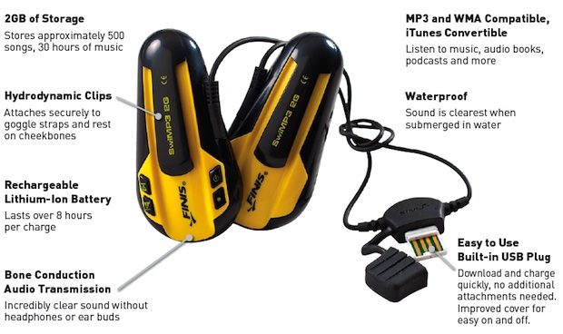 SwiMP3 2G Underwater MP3 Player