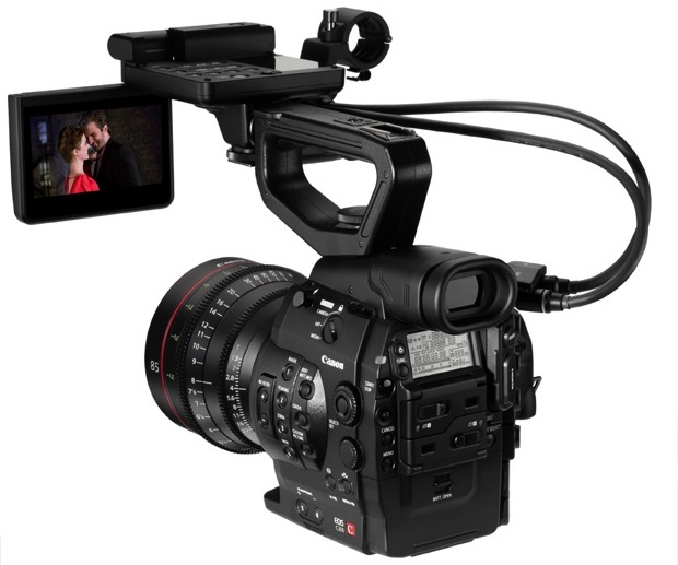 Canon EOS C300 Digital Cinema Camera - Back